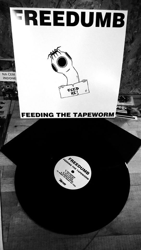 RPC010 Freedumb - Feeding the Tapeworm LP