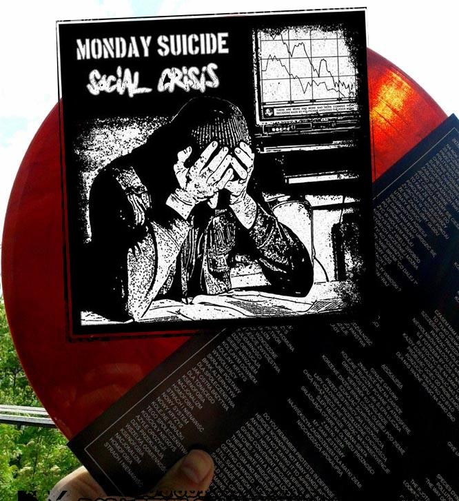 RPC 007 Social Crisis / Monday Suicide split LP